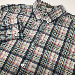 Orvis Long Sleeve Button Down Multicolor Shirt